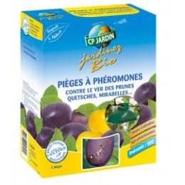 Piège à phéromone contre le ver des prunes (les 2)