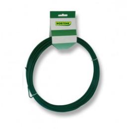 Fil de fer plastifié vert 1,2 mm x  25 m