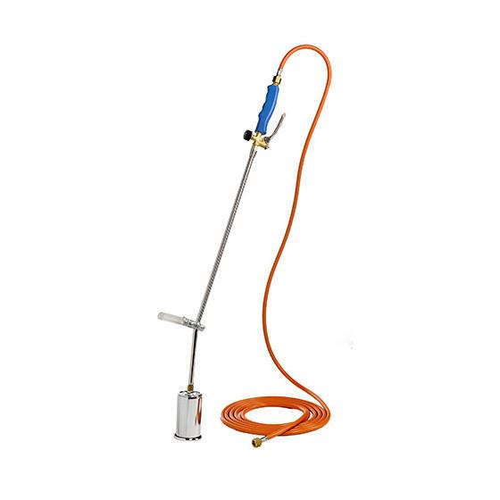 Désherbeur thermique avec tuyau et détendeur