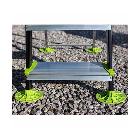Escabeau de jardin en aluminium 7 marches