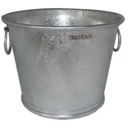 Pot en zinc rond 28 Litres