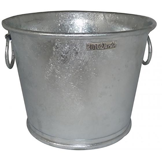 Pot en zinc rond 110 Litres