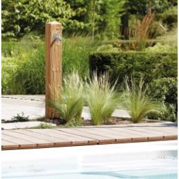 Fontaine imitation bois