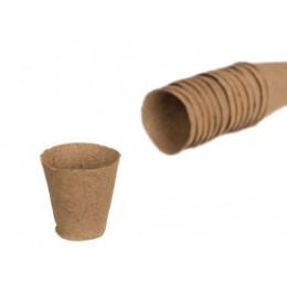 Godets pour semis rond et biodégradable diam 6 cm