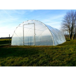 Serre jardin tunnel largeur 4,50 m