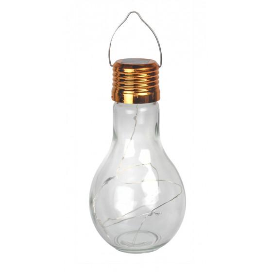 Ampoule solaire de jardin à LED à poser sur une table