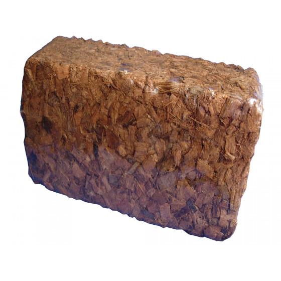 briquette de paillage en coco compressé