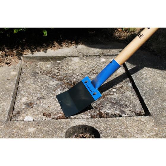 Grattoir de sol multiusage lame acier 15 cm avec manche