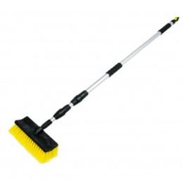 Balai brosse télescopique de lavage 2,50 m avec raccord tuyau