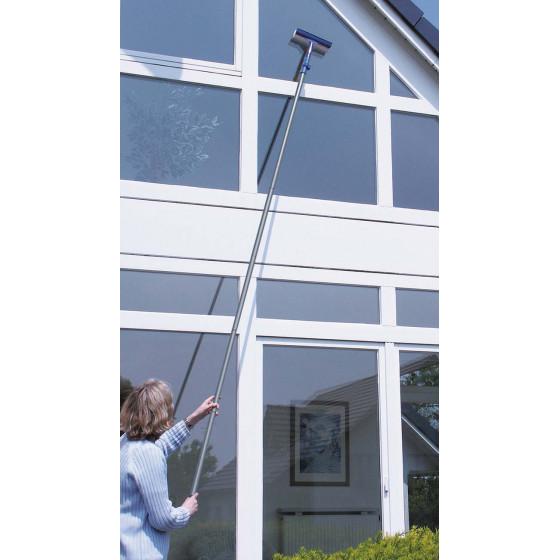 Lave vitre avec manche télescopique