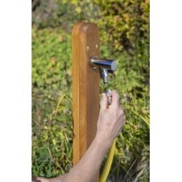 Robinet de jardin design en laiton chromé